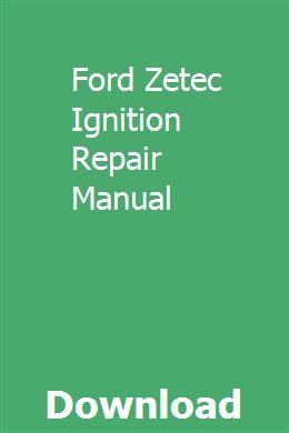 Ford Zetec Ignition Repair Manual Repair Manuals Ford Tractors Buick Lesabre