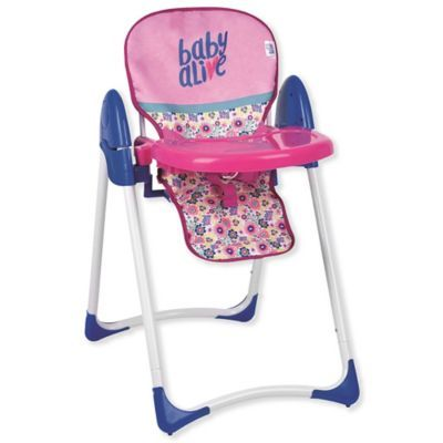 Hauck Baby Alive Doll Deluxe High Chair Baby Alive Dolls Baby