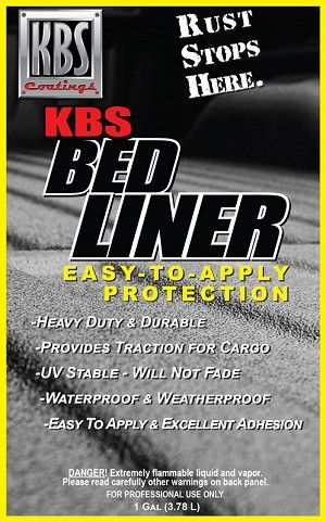 Kbs Bed Liner Easy To Apply Durable Uv Stable Bed Liner Bed Liner Liner How To Apply