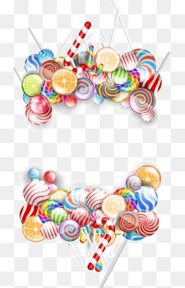 Colored Candy Border Candy Clipart Frame Vector Png Transparent Clipart Image And Psd File For Free Download Candy Clipart Color Vector Color