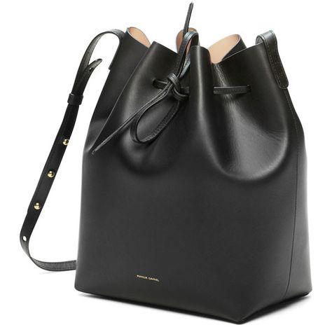 b15f8e24c12f Newest Mansur Gavriel bucket bag women genuine leather hand bag lady ...