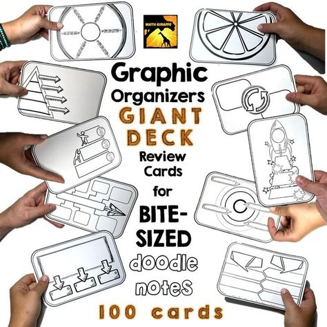 list of pinterest study guide template graphic organizers student