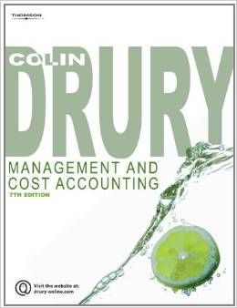 Instant Download Solution Manual For Management And Cost Accounting 7th Edition Colin Drury Item Details Item Cost Accounting Accounting Accounting Student