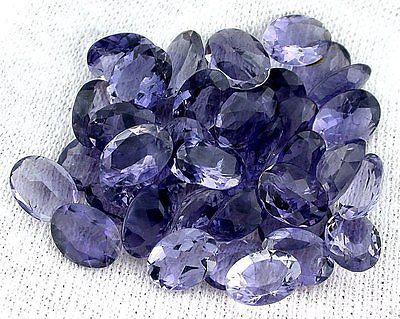 12mm x 8mm Natural Amethyst Deep Purple Oval Cabochon Gem Gemstone