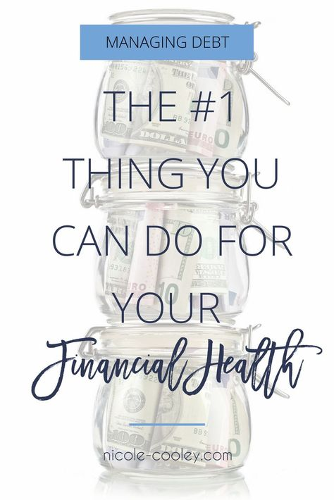Budgeting, cutting expenses, trying to earn more, student loans, 401k contributions… managing your money has a lot of different pieces requiring your attention. Click here to learn the #1 most important thing you must do for your financial health. #