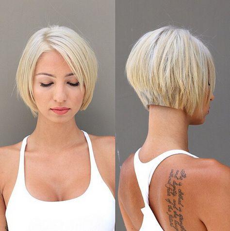 Hot und funky Bob Frisur für kurze Haare, die Sie auf zu versuchen und einen neuen bob Stil