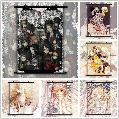 Fairy tail Gray HD Print Anime Wall Poster Scroll Room Decor