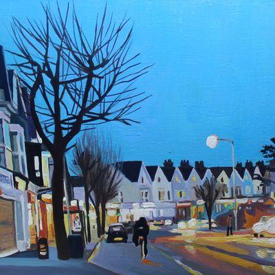 Wales Prints Medium Seascape Artists City Art Painting