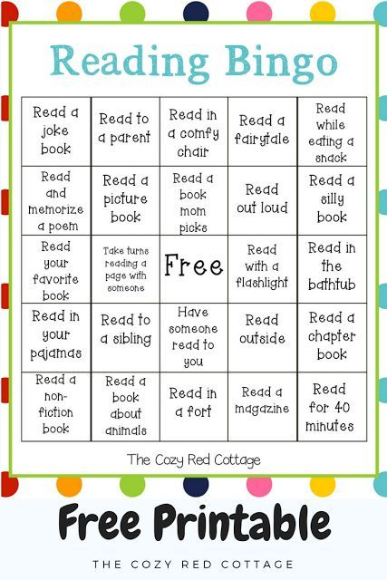 graphic relating to Printable Reading Games titled Looking at Bingo (Free of charge Printable) Small children Looking through bingo