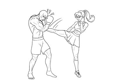 Many Beginners Choose Anime Manga As Their First Drawing Style Because It Looks Very Simple And Appealing However In 2020 Anime Fight Fighting Drawing Anime Drawings