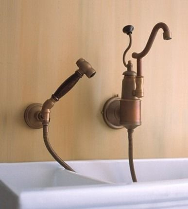 Traditional Kitchen Faucets For A French Country Kitchen ...