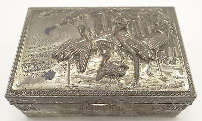 1 Antique Japanese Asian Bird Bowl 5/'/'