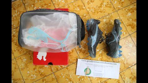 Sepatu Bola Puma 08 Tricks I Fg Dark Shadow Barely Blue Original