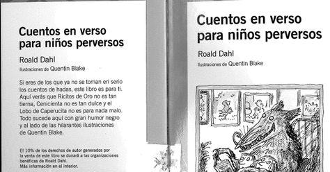 Cuentos En Verso Para Niños Perversos Libro Escaneado Pdf Versos Para Niños Lectura De Comprensión Proyectos De Lectura
