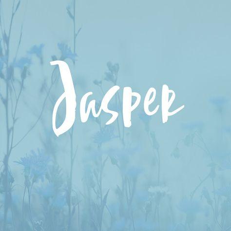 Jasper - Bohemian Baby Names for Boys - Photos