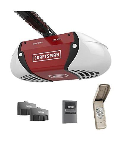 Craftsman Hp Chain Drive Garage Door Opener Kit With Images