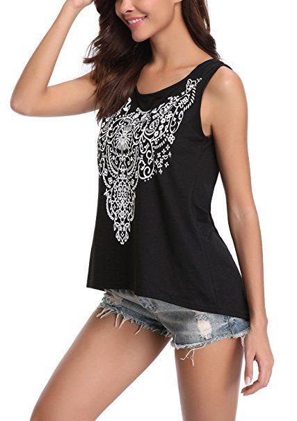 Damen V-Ausschnitt Weste Spitze Trägertop Tanktop Bluse T-Shirt Sommer Party Top