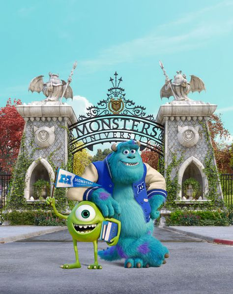 MonsterUniversity😍 | via Tumblr discovered by Allison.
