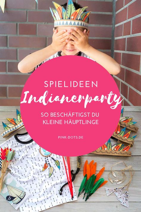 Indianer Party Kinder Geburtstag Große Auswahl Deko Teller Becher