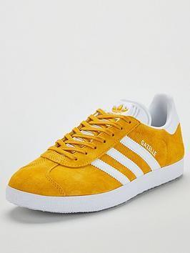 Adidas Originals Gazelle YellowWhite, YellowWhite, Size