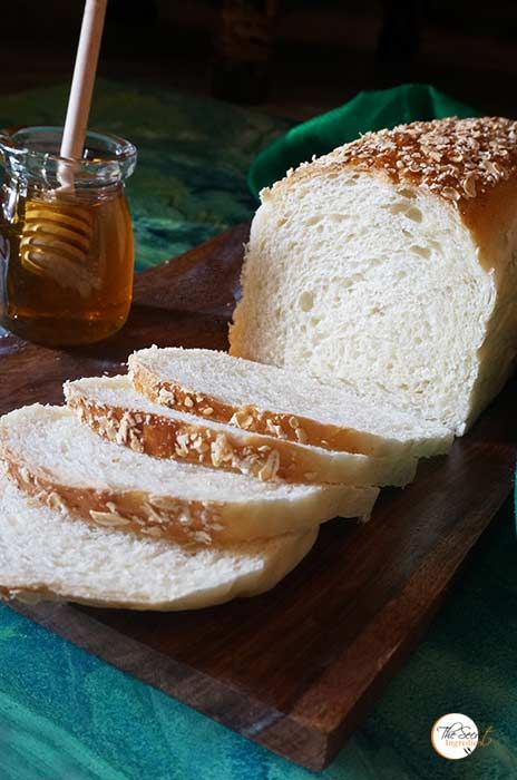 White Sandwich Bread With Tangzhong Method Recipe Sandwich