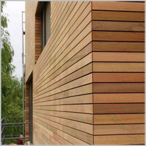 Stainless Steel Nails Cedar Wood Wood Cladding Cladding Wood Facade