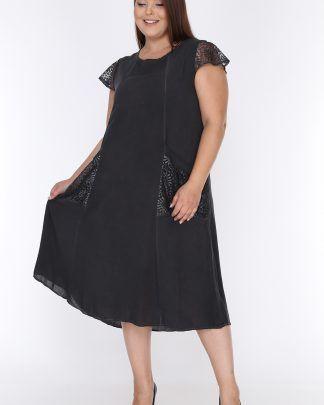 Mooi Xxl Mooi Buyuk Beden Moda Stilleri Moda Siyah Kisa Elbise