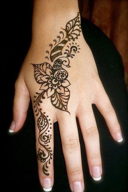 Hire A Henna Artist Or By Henna And Create Your Own Designs Henna Tattoo Designs Henna Tattoo Hand Cute Henna Tattoos