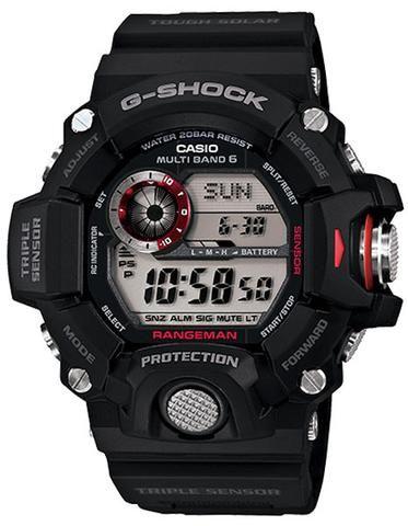Casio Master of G G Shock Mens Rangeman Watch Triple  x7Ntl