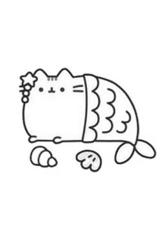Pin By Trey Marks On Coloring Pages Mermaid Coloring Pages Pusheen Coloring Pages Birthday Coloring Pages