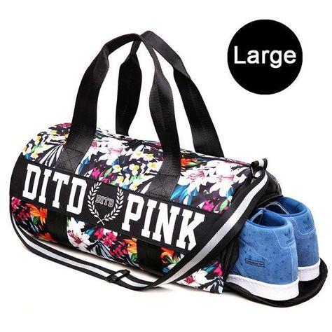 Fitness Shoulder Gym Bag Waterproof Portable Training Bag Women Men Yoga Travel