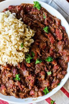 Cajun Style Vegan Red Beans And Rice
