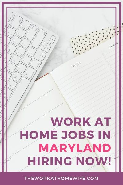 Work From Home Jobs In Maryland Hiring Now Work From Home Jobs
