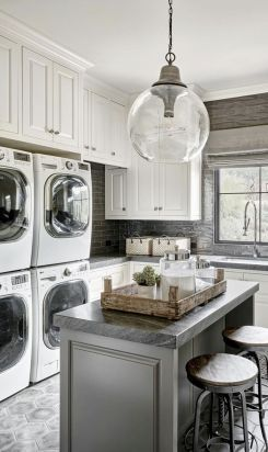 60 Modern Farmhouse Laundry Room Ideas Farmhouse Laundry Room