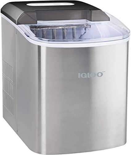 New Igloo Iceb26ss Automatic Portable Electric Countertop Ice