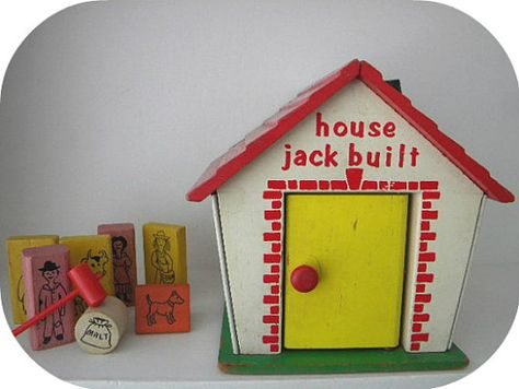 House Jack Built by CubbiesRoom on Etsy,