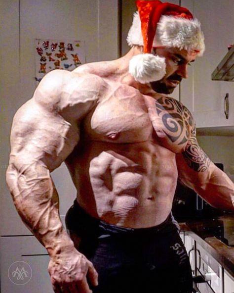 ifbb #tattoo #beard #bodybuilder...