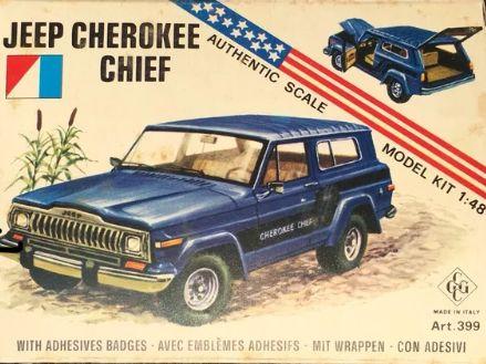 1 48 Cherokee Chief Model Cherokee Chief Jeep Jeep Truck