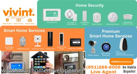 Smarthome Security Smarthome Security System Fully Customizable U Can Add Doorbellcamera Smart Locks Door Window Sensors Thermo Smart Home Smart Storage Home Automation