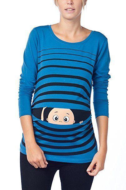 Lustige Umstandsmode T Shirt Mit Motiv Schwangerschaft Geschenk