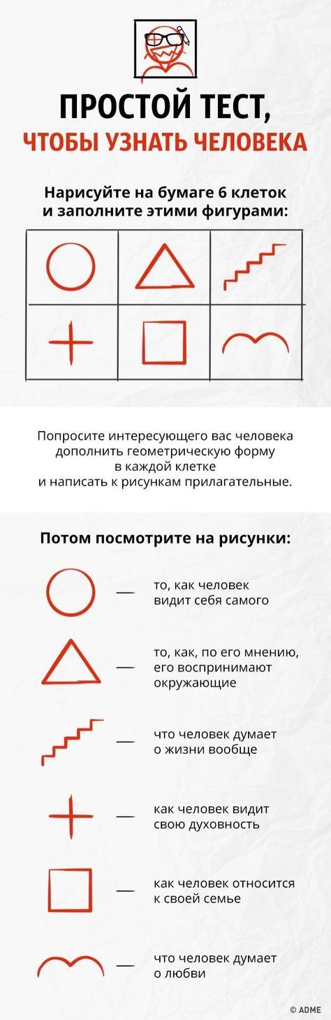 Прикольные тесты картинки на определение личности