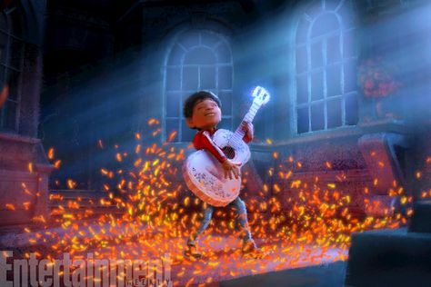 'Coco' First Look: Pixar's Pivotal, Musical Moment