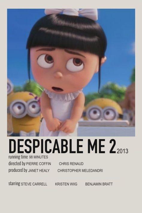 Despicable Me 2 Minimalist Movie Poster