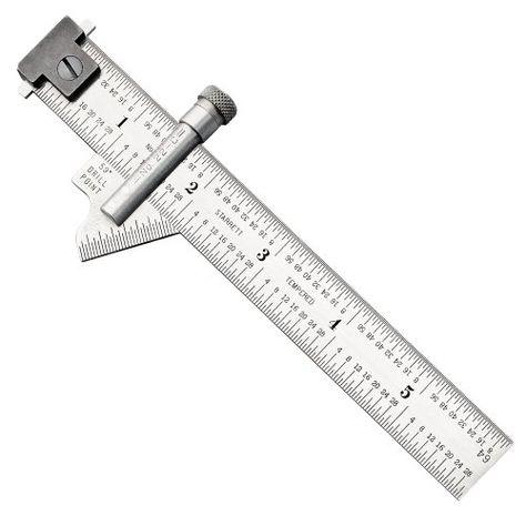 Starrett 22c Drill Point Gauge Hook Rule 59 Degree Head Metal Working Tools Machinist Tools Starrett
