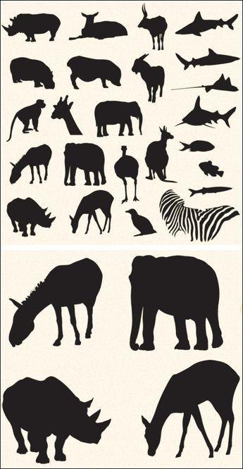Free Vector Pack Safari And Zoo Animals Safari Animals Zoo Animals Animals