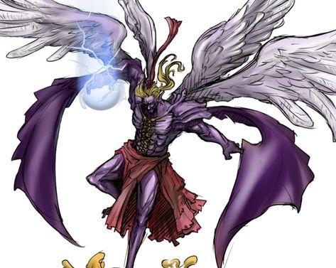 Kefka god form | Kefka Palazzo (Final Fantasy VI) | Pinterest ...