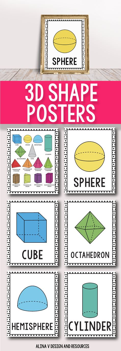 List of Pinterest shapes poster for classroom images  shapes poster