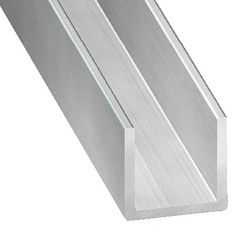 Profile En U Aluminium Brut L 2 50 M 20x20x20 Mm Interieur 17 Mm Brico Depot Interieur Amenagement Interieur Brut