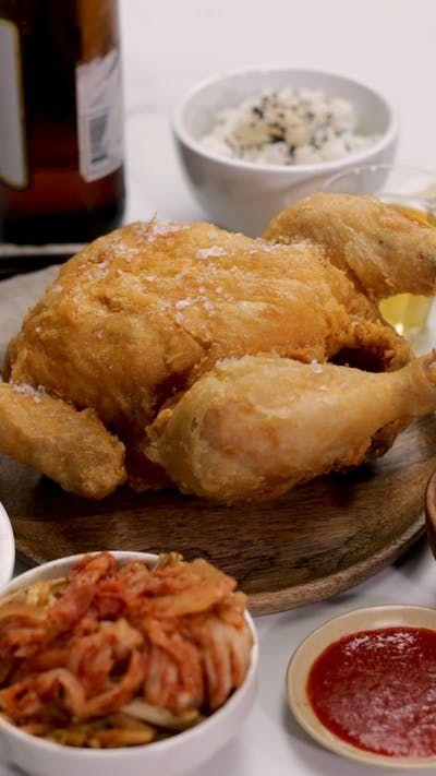 Download Tasty Korea Chicken And Beer