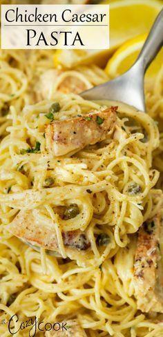 Italian Recipes, New Recipes, Cooking Recipes, Favorite Recipes, Disney Recipes, Disney Food, One Pot Meals, Main Meals, Pasta Facil